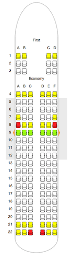 Airbus A SeatExpert - Us airways a321 seat map